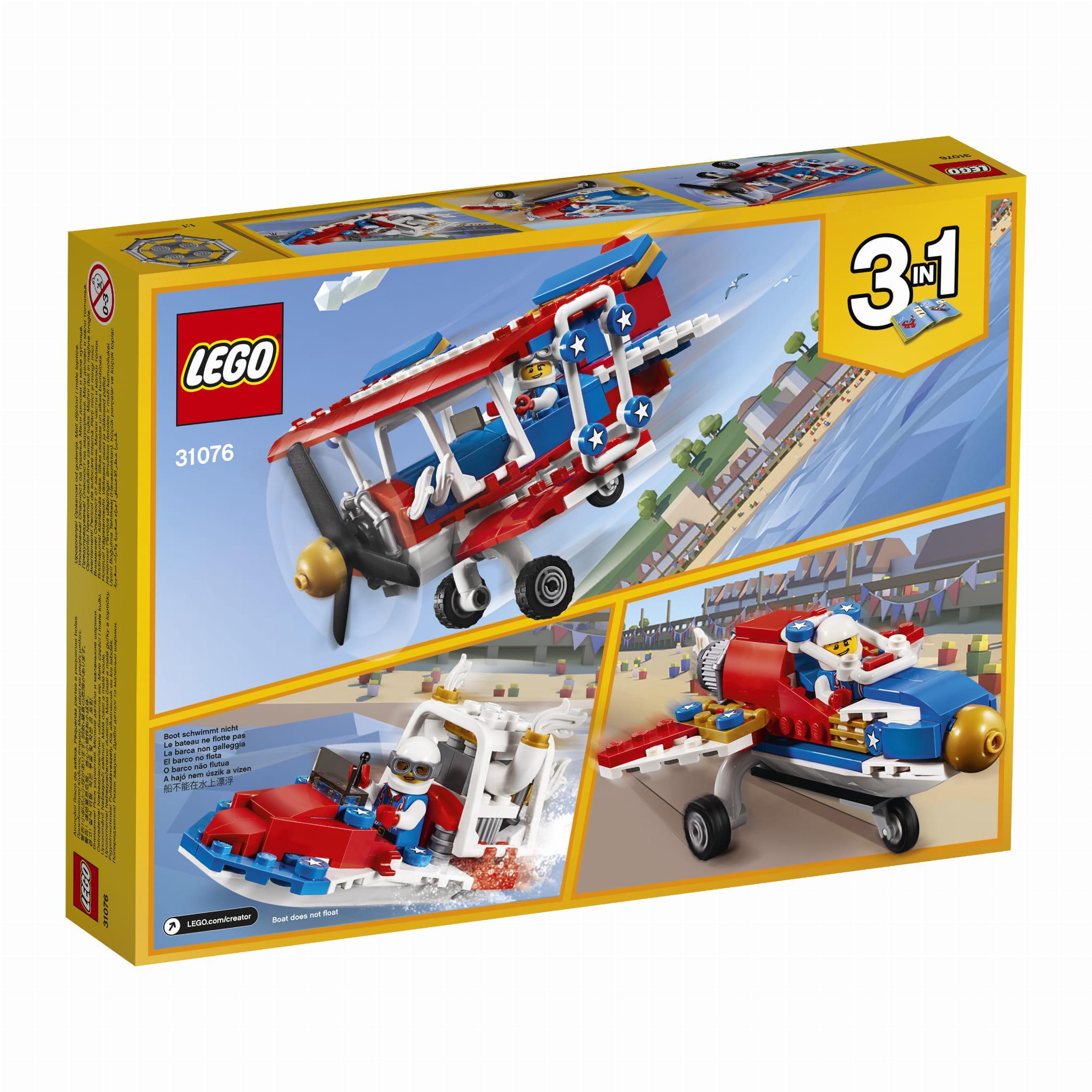 31076 Lego® Creator - Samolot Kaskaderski regarding Er Creator