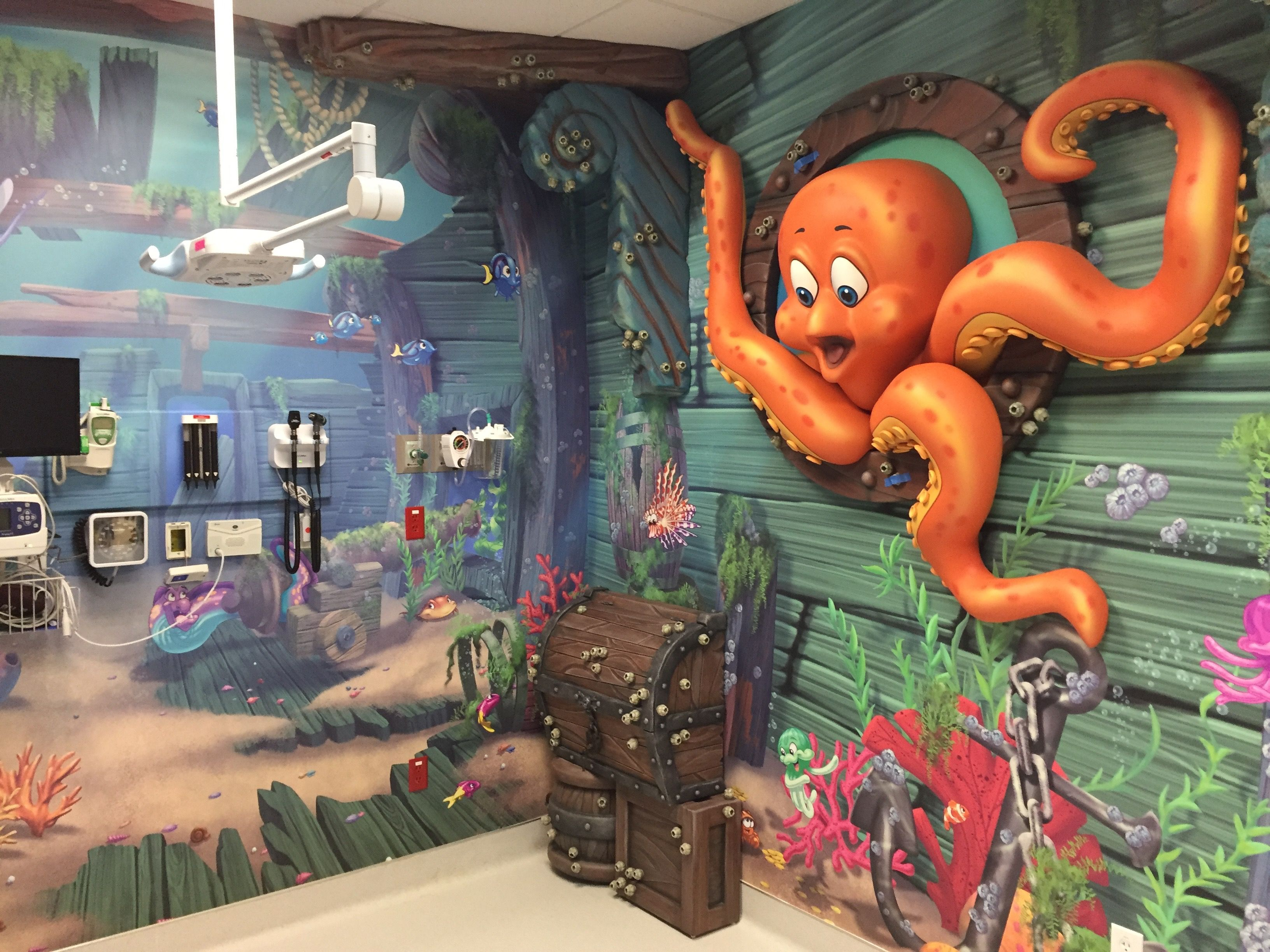 Check Out This Sunken Ship Themed Emergency Room At within Er Creator