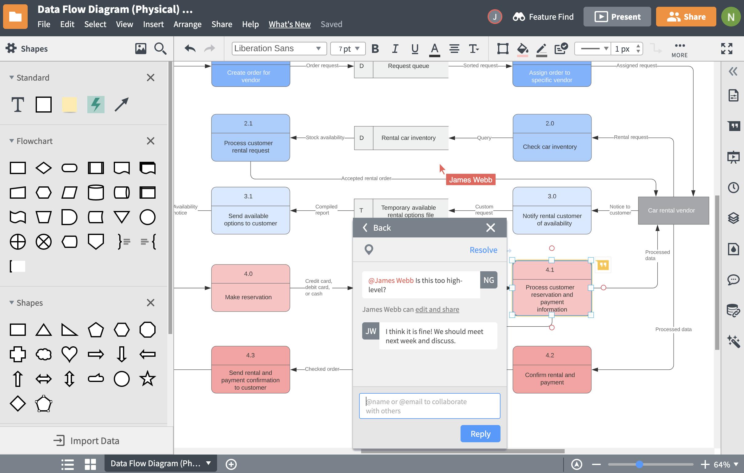 Database Design Tool   Lucidchart regarding Sql Database Relationship Diagram