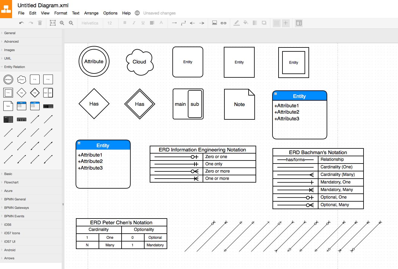 Entity Relationship Diagram Software - Stack Overflow within Er Model Software