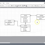 Entity Relationship Diagrams: Simple Student Registration System Example Intended For How To Create An Entity Relationship Diagram In Access