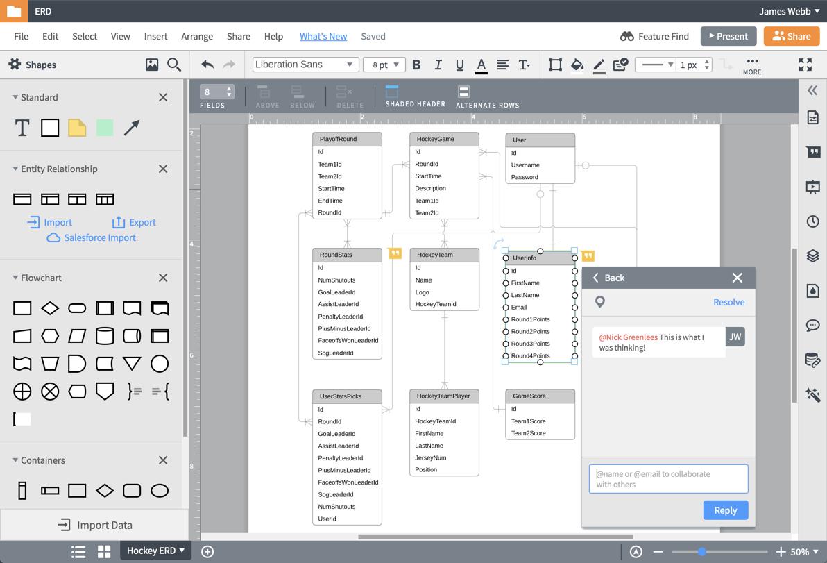 Er Diagram (Erd) Tool | Lucidchart for Erd Diagram Online Free