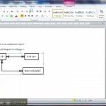 Er Diagram In Dia 3 Of 3: Using The Diagram In Word In Er Diagram In Word 2010