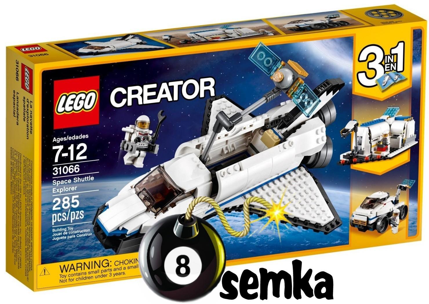 Lego Creator 31066 Odkrywca Z Promu Kosmicznego 3W1 with Er Creator