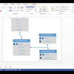 Visio 2013   Database Diagram (Crows Foot Notation) With Create Er Diagram Visio 2016