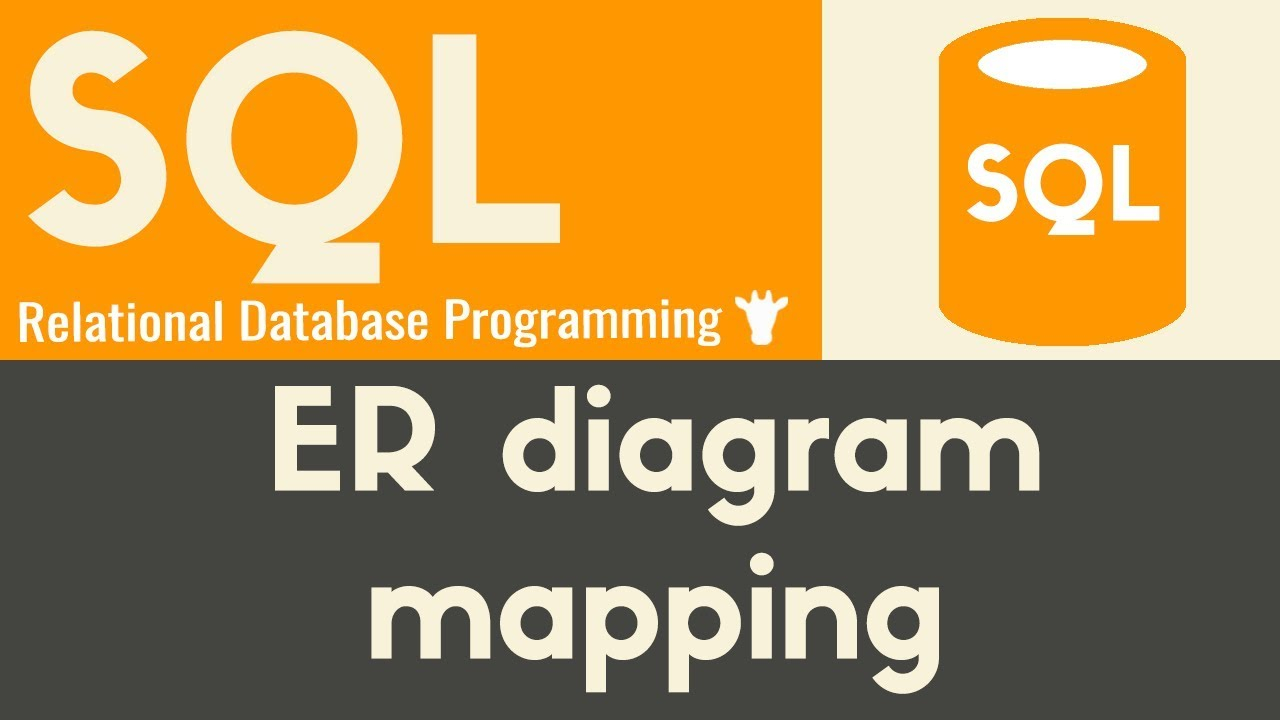 Converting Er Diagrams To Schemas   Sql   Tutorial 23