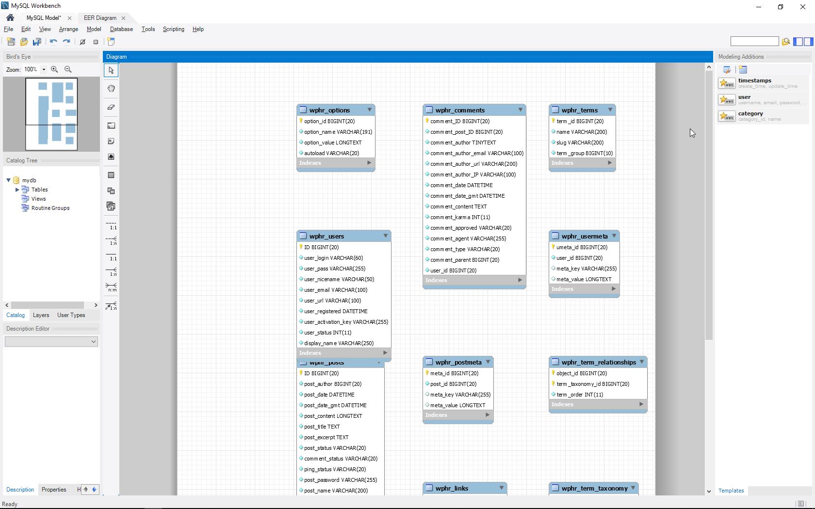 Create A Database Diagram In Mysql Workbench   Inmotion