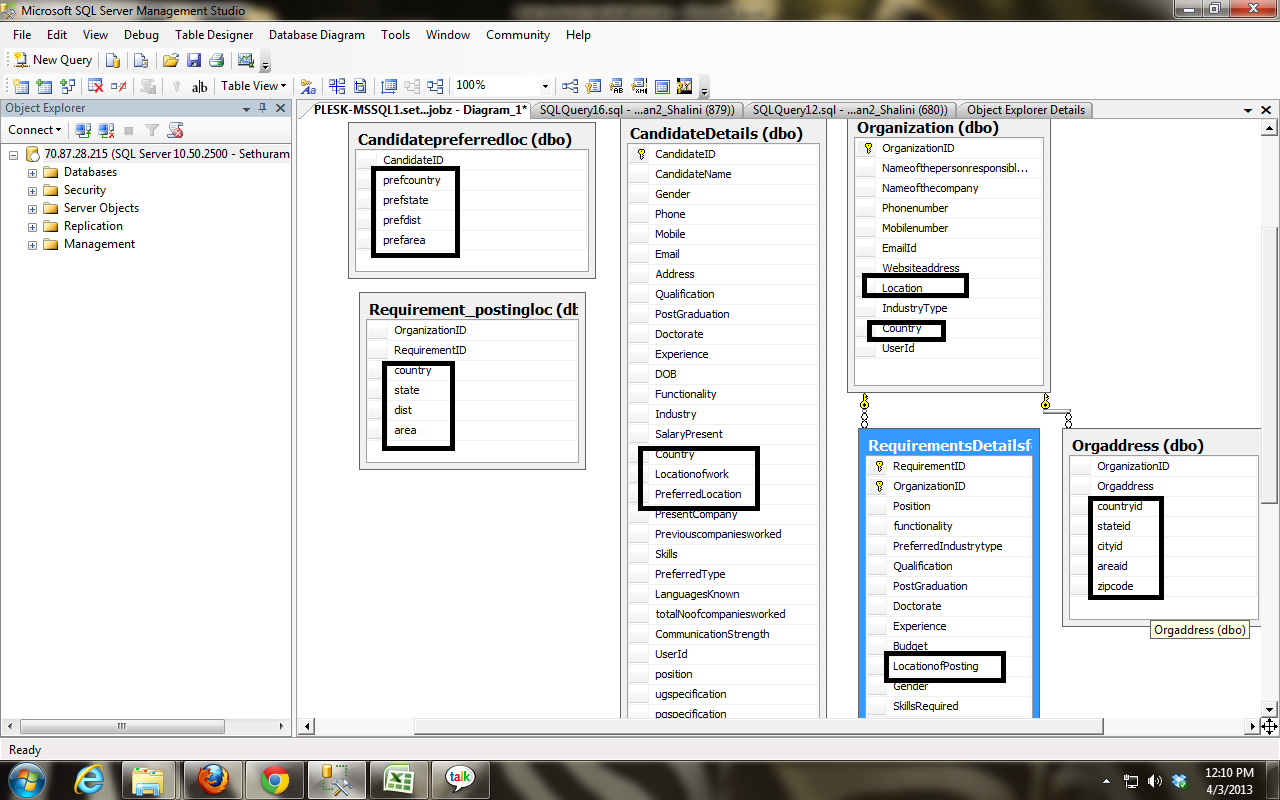 Create Image For Database Diagram In Sql Server - Stack Overflow