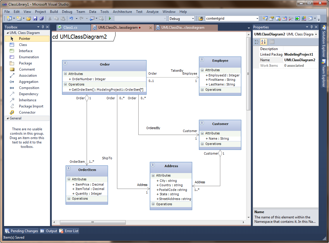 Diagram] How To Create Component Diagram In Visual Studio