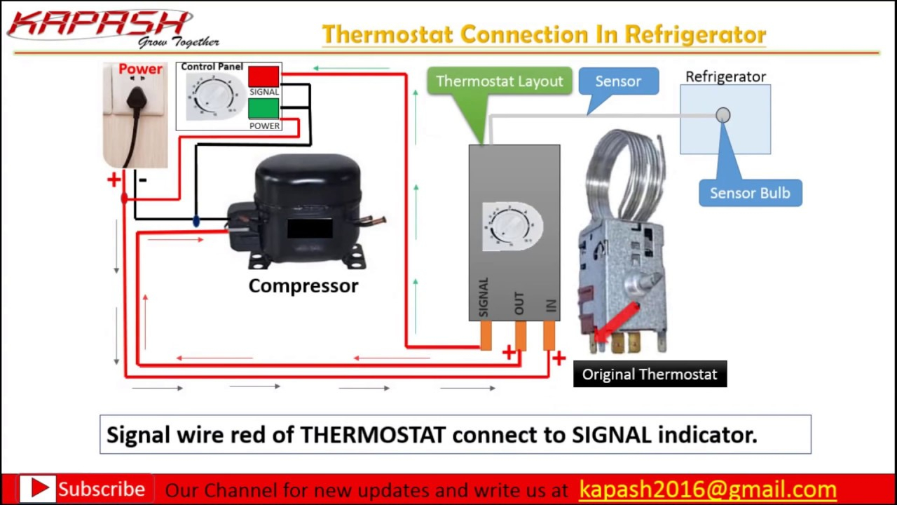 Diagram] Thermostat Wiring Connection In Hindi Part 2 Wiring