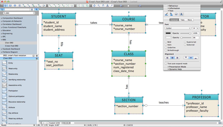 Free Er Diagram Tool For Mac