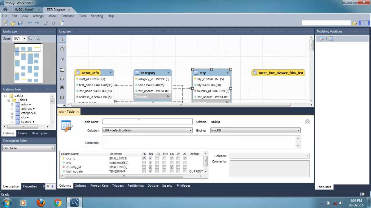 How To Create Eer Diagram From Existing Database Using Mysql Workbench 6.0