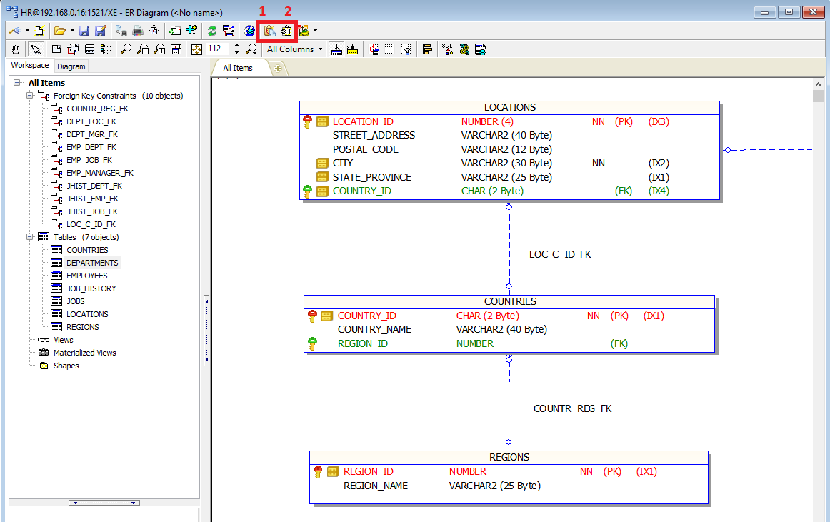 How To Create Er Diagram For Existing Database With Toad For