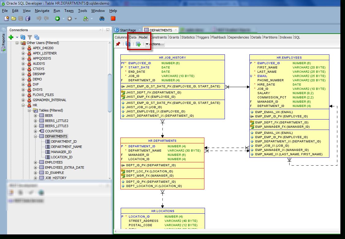 Generate Er Diagram In Sql Developer