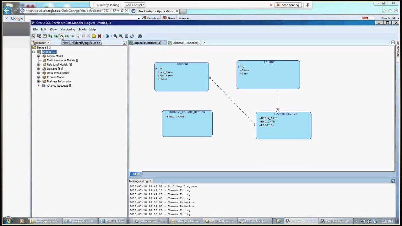 Introduction To Sql Developer Data Modeler