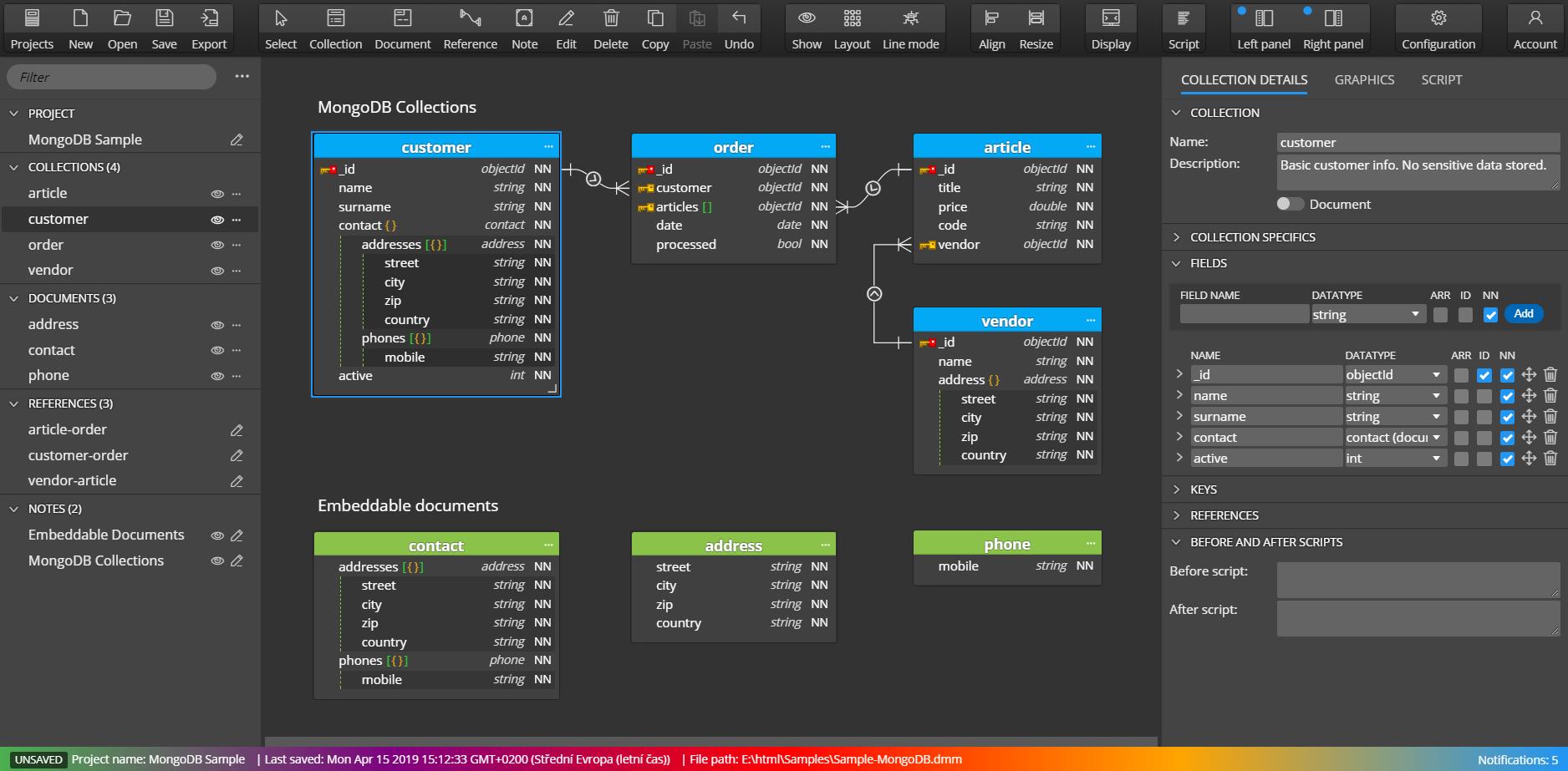 Moon Modeler - Draw Er Diagrams For Your Data Models