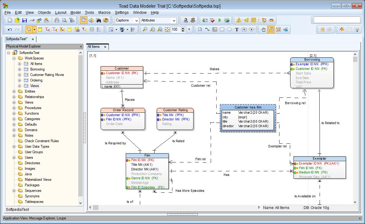 9 Database Diagram / Reverse Engineering Tools For Teradata