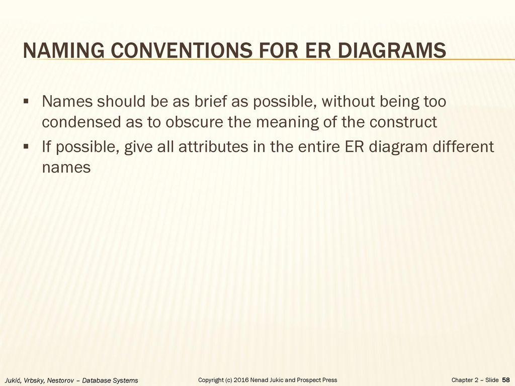 Chapter 2 - Database Requirements And Er Modeling - Ppt Download