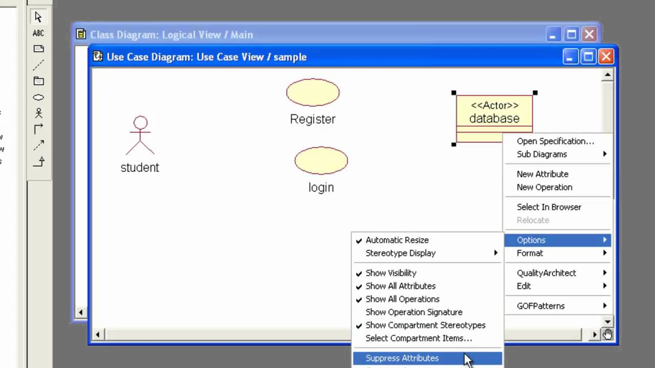 Create A Use Case Diagram With Rational Rose