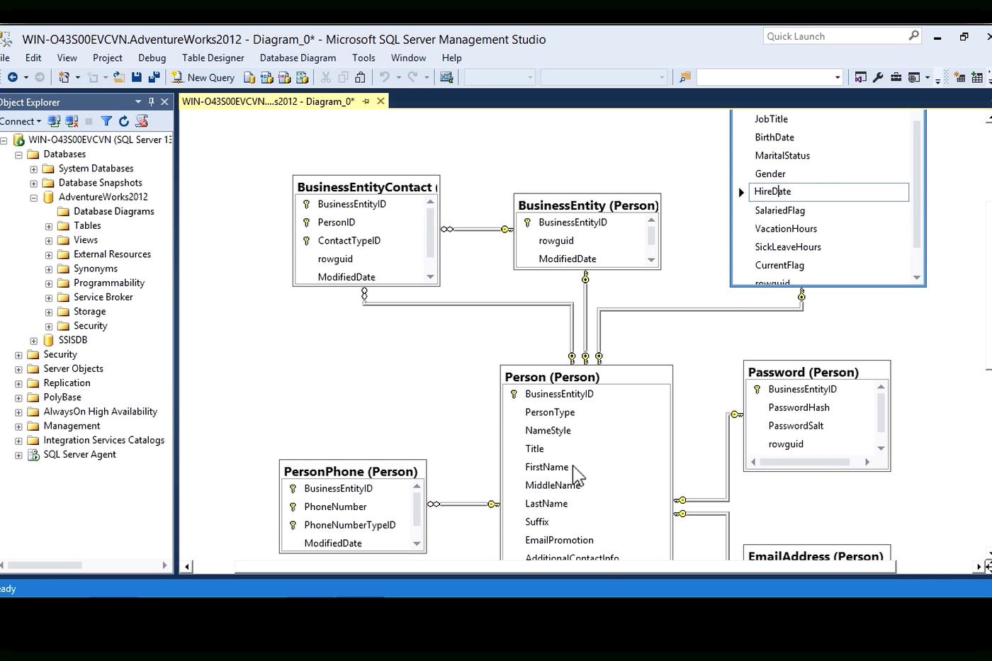 Diagram] Database Diagram Microsoft Sql Server Management