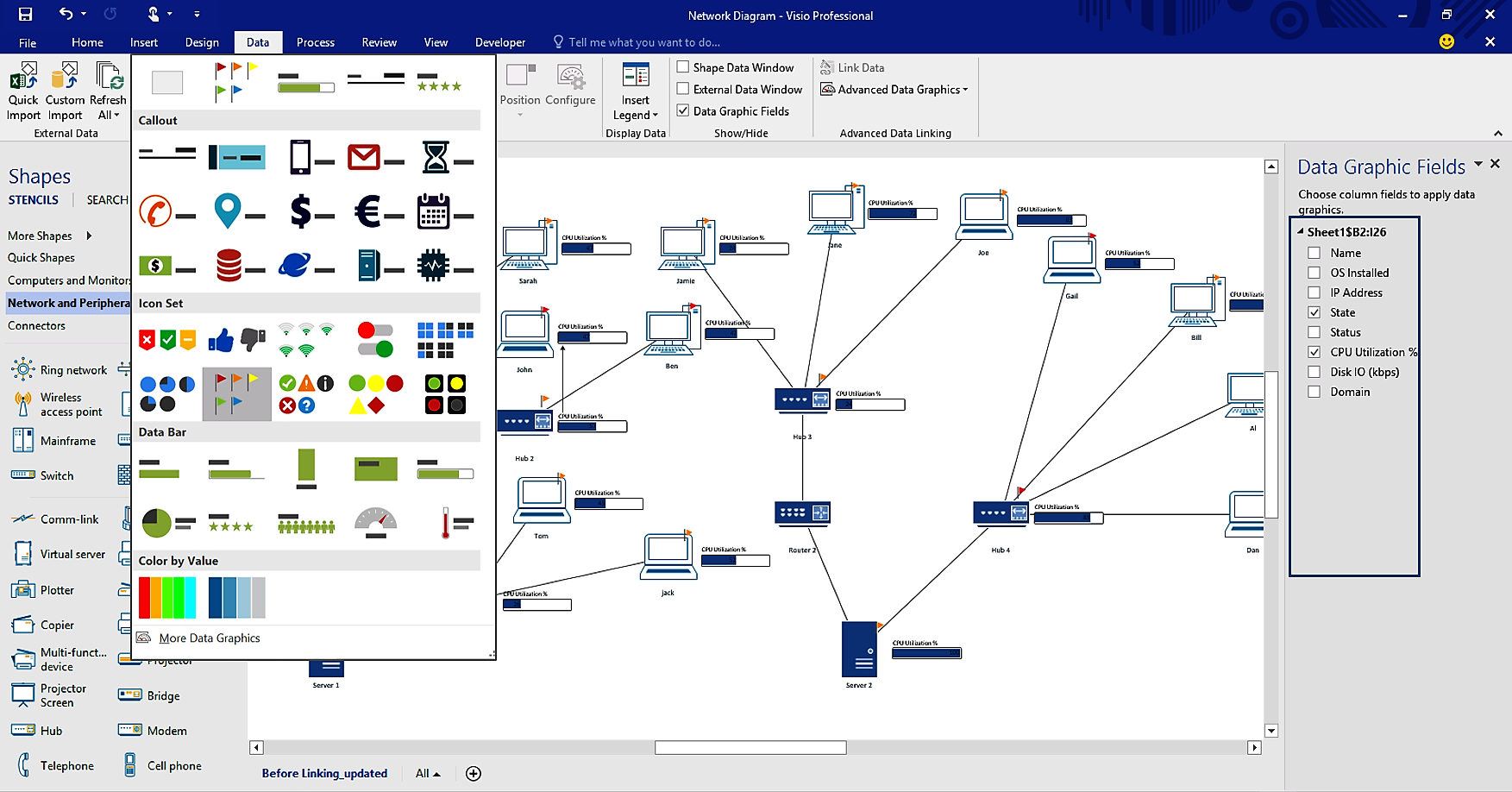 Visio Er Diagram Stencil Download
