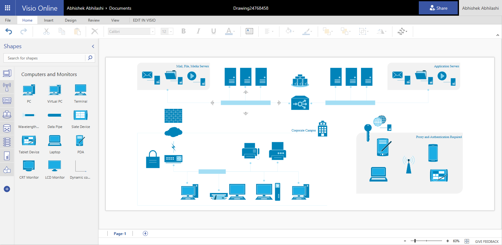 Visio Er Diagram Template Download