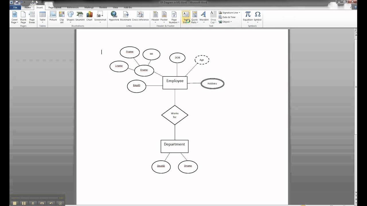 Diagram] Microsoft Word Diagram Tutorial Full Version Hd
