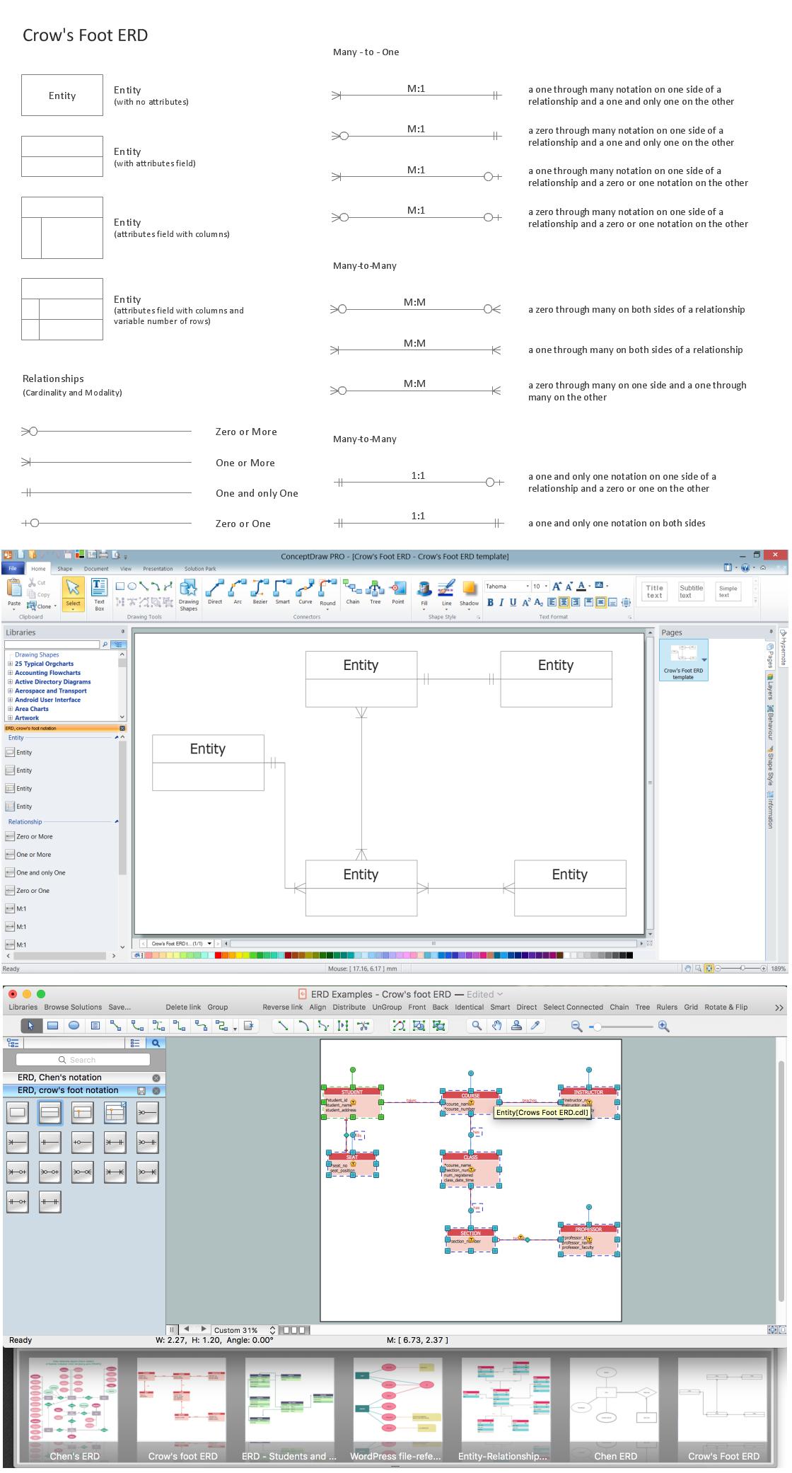 Entity Relationship Diagram - Erd - Software For Design