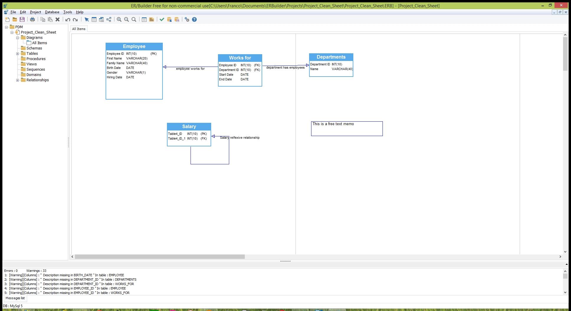 Er/builder - Free Database Modeling & Schema Generation
