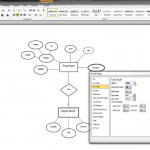 Er Diagram In Ms Word Part 9   Illustrating A Weak Entity