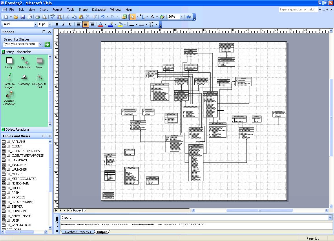Microsoft Visio Er Diagram Template – Putusa