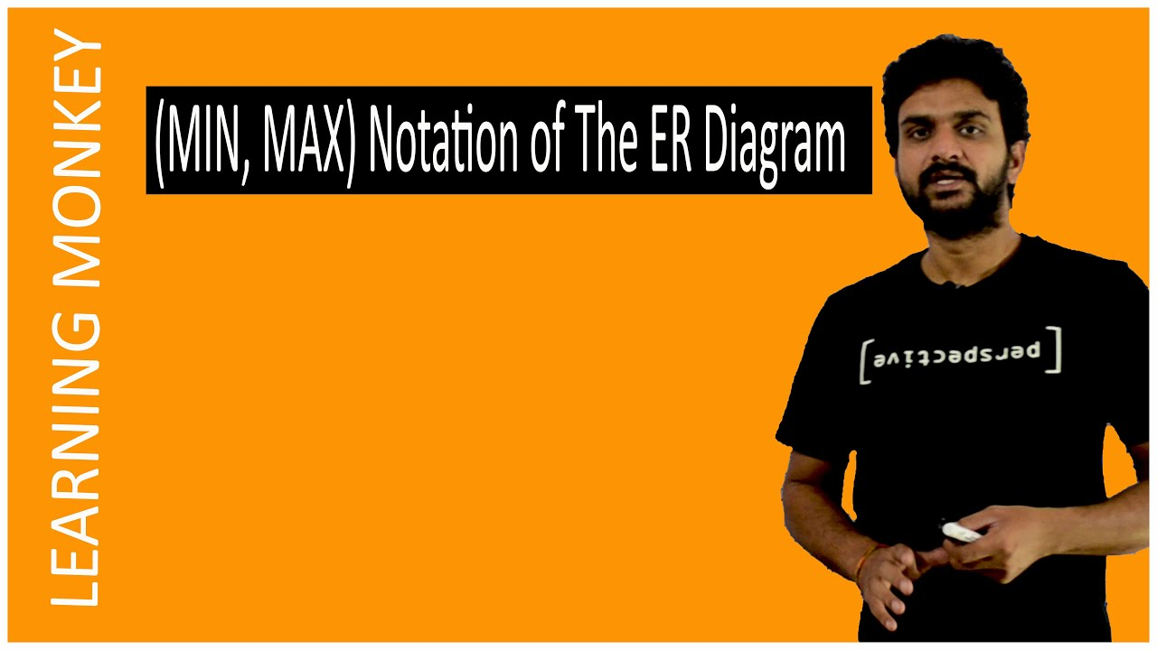 (Min, Max) Notations Of Er Diagram || Lesson 22 || Dbms || Learning Monkey  ||