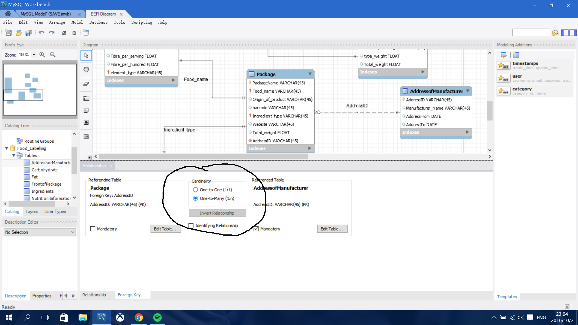 My Sql Workbench Creating Many To Many Relationship In Eer