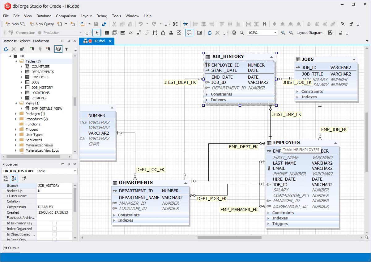 Oracle Er Diagram Tool Free Download