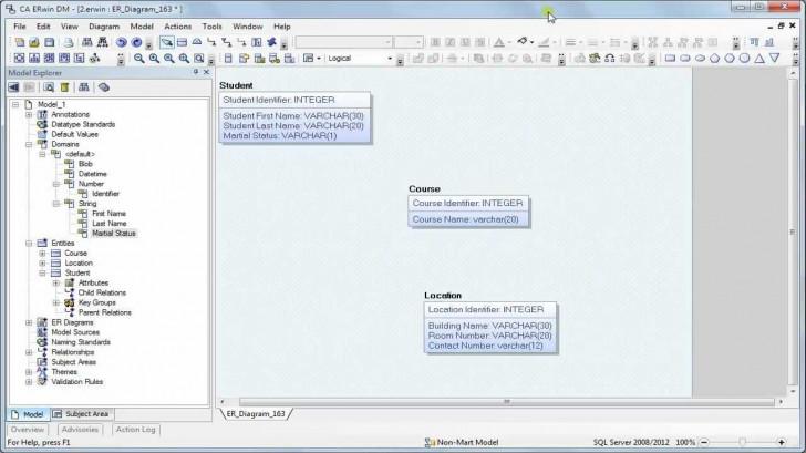 Permalink to 004 Erwin Data Modeler Relationships regarding Erwin Diagram