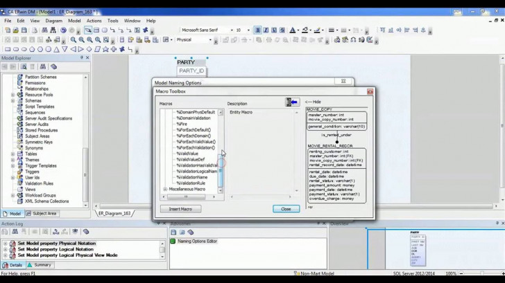 Permalink to 10. Erwin Data Modeler Tool Tutorial – How To Create And Configure Macros inside Erwin Data Modeling Tool