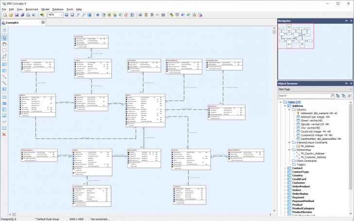 Permalink to 15 Database Diagram / Reverse Engineering Tools For Informix regarding Erd Editor