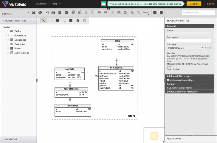 Permalink to 6 Different Tools You Can Use To Create Er Diagram (Erd) For with regard to Er Model Generator