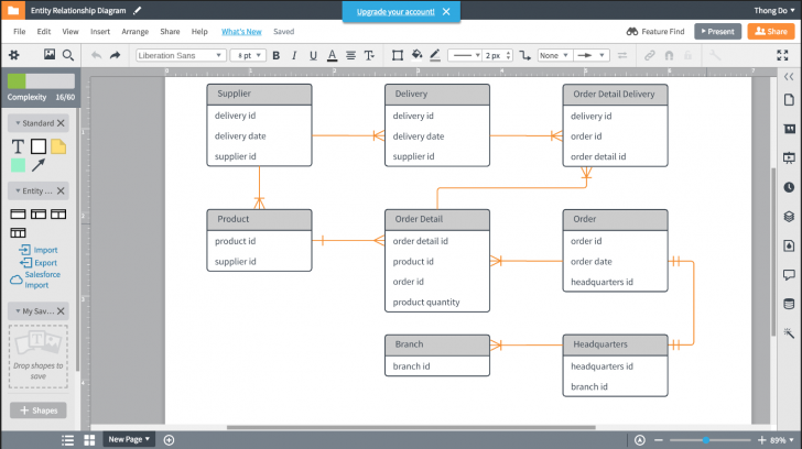 Permalink to 60 Database Diagram / Reverse Engineering Tools For Sql within Er Diagram In Sql
