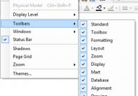 Appendix A: Ca Erwin Data Modeler Toolbars – Data Modeling throughout Erwin Data Modeler