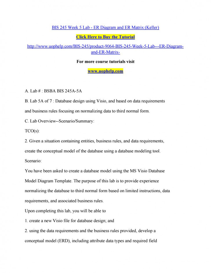 Permalink to Bis 245 Week 5 Lab Er Diagram And Er Matrixreddy12 – Issuu pertaining to Er Diagram Business Rules