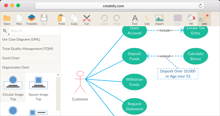 Permalink to Business Diagram Software With Real-Time Collaboration pertaining to Er Diagram Creately
