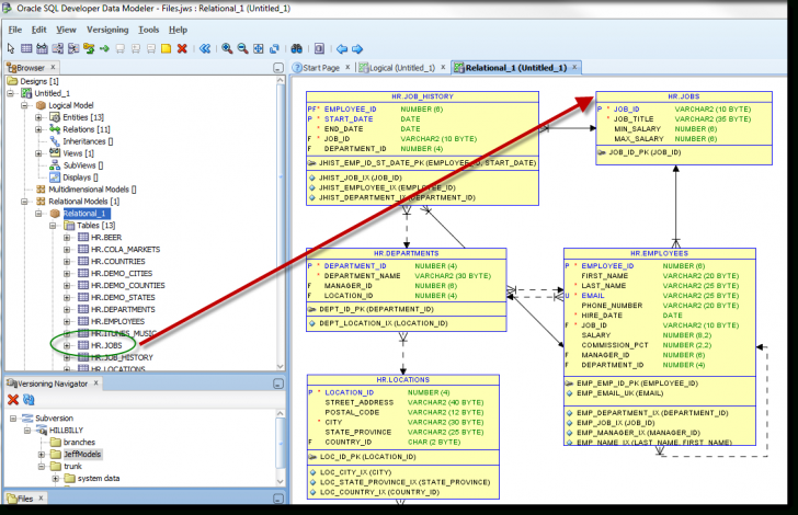Permalink to Can Oracle Sql Developer Do That? – Thatjeffsmith throughout Er Diagram In Sql Developer