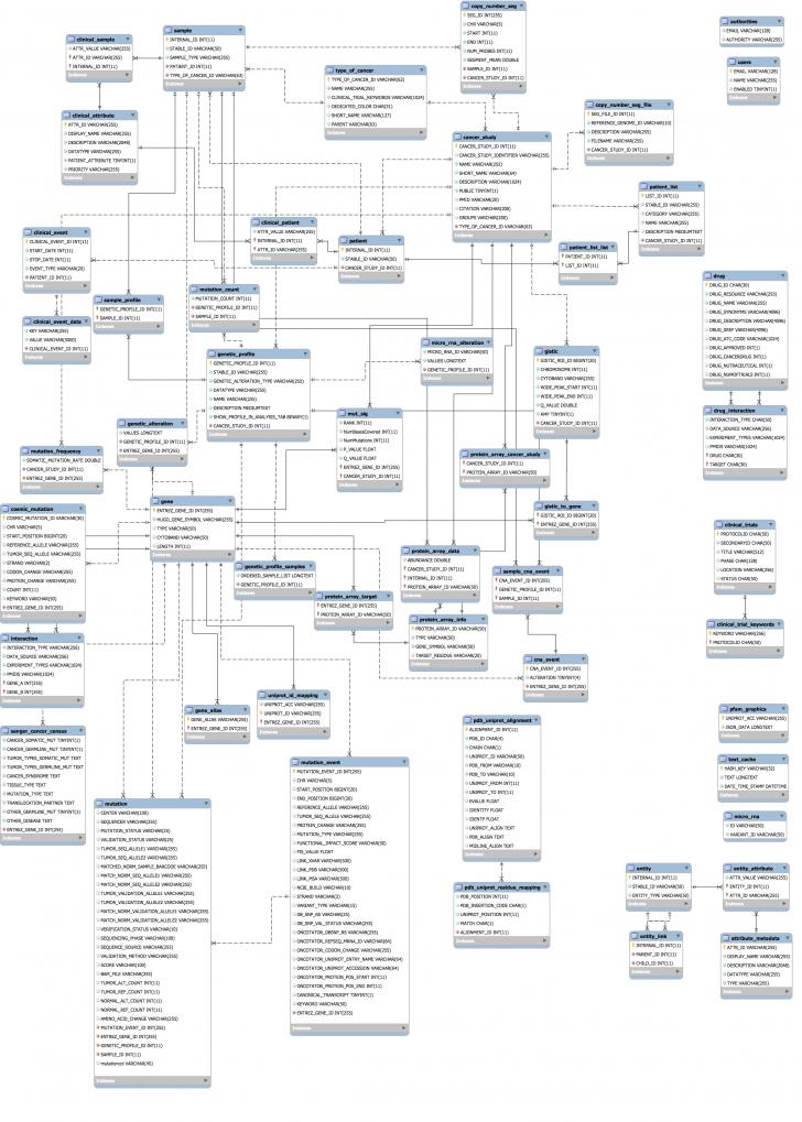 Permalink to Cbioportal/cbioportal-Er-Diagram.md At Master · Cbioportal with Er Diagram Github