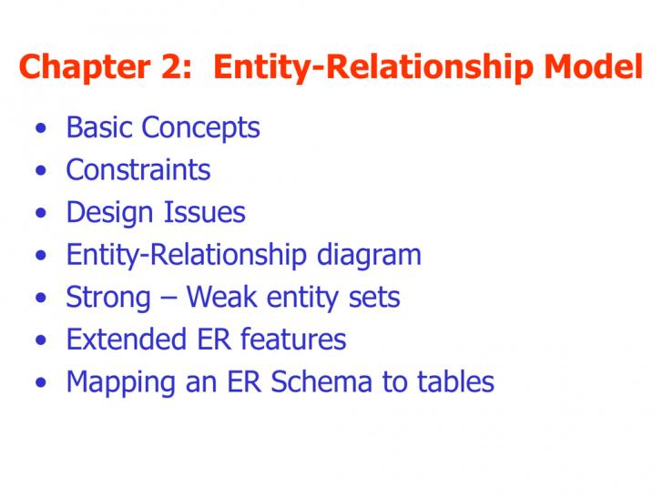 Permalink to Chapter 2 inside Er Diagram Generalization