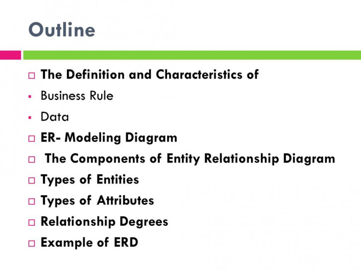 Permalink to Chapter 3: Modeling Data In The Organization – Ppt Download within Erd Definition