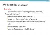 Chapter 6 : แบบจำลอง E-R (Entity-Relationship Model) – Ppt inside 6. Er-Diagram ประกอบด้วยองค์ประกอบพื้นฐานอะไรบ้าง