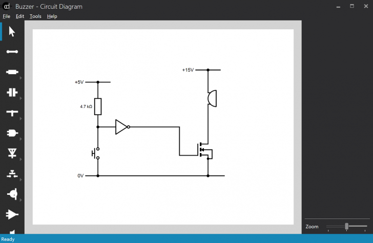 Permalink to Circuit Diagram – A Circuit Diagram Maker within Draw Diagram Free