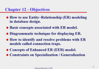 Conceptual Design & Erd Modelling – Ppt Download pertaining to Er Model Basic Concepts