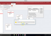 Convert Erd To Ms Access: Student Registration Example with Access Erd Diagram